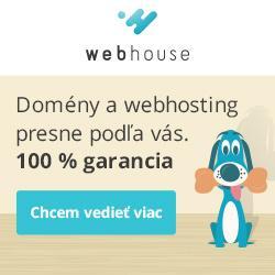 Domeny, webhosting - na odporučanie